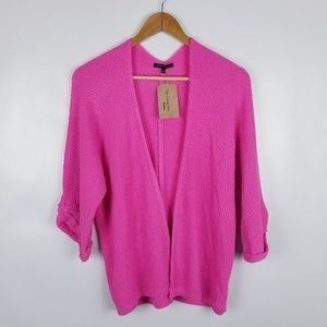 Staccato S/M Pink Knit Cardigan